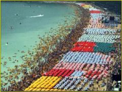 Παραλία Αλυκών μετά την ανάπτυξη των καντινών
