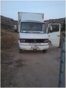 Φορτηγό σε χωματερή της Π