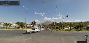 Google Street View Διασταύρωση Σουνίου - Καλυβίων
