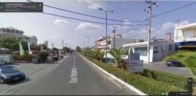 Google Street View Λεωφόρος Καραμανλή Ανάβυσσος