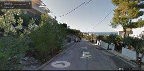 Google Street View Οδός Υμηττού Σαρωνίδα