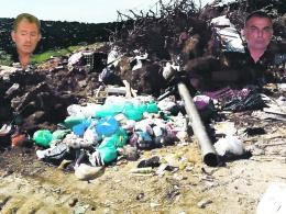 χωματερή Καλυβίων